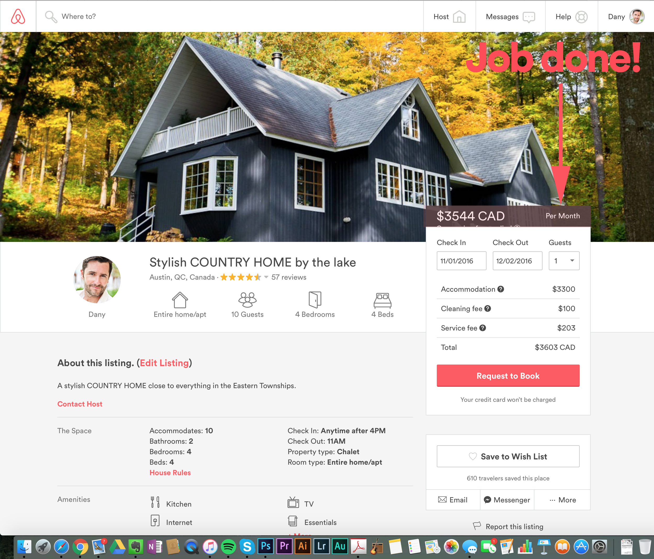 Airbnb Sublets - Job done!