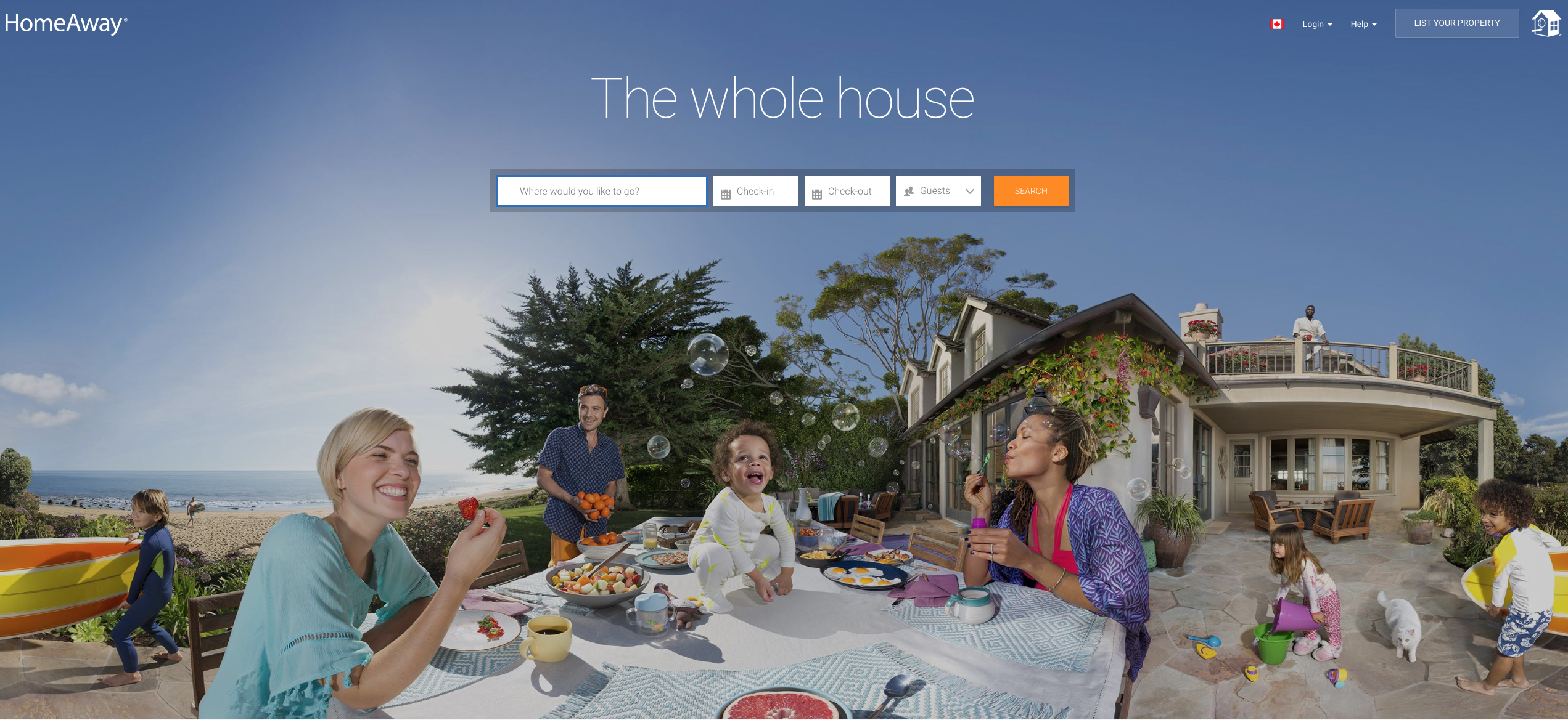 Airbnb Alternatives and Competitors : Homeaway