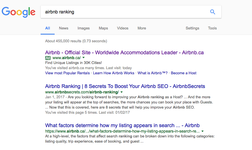 Airbnb Ranking | 8 Secrets To Boost Your Airbnb SEO