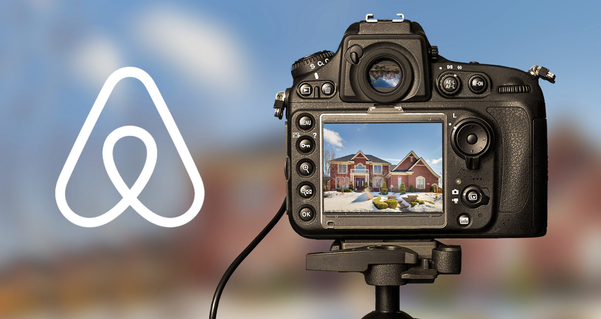 airbnb course photography white logo